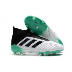 Scarpe Adidas Predator 18+ FG - Bianca Verde