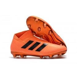 adidas Nemeziz 18+ FG Scarpe da Calcio - Arancio Nero