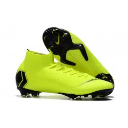 Nike Mercurial Superfly VI 360 Elite FG Scarpe - Giallo Nero