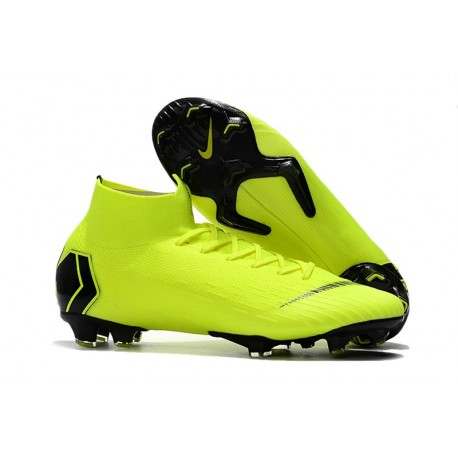 Nike Mercurial Superfly VI 360 Elite FG Scarpe Giallo Nero
