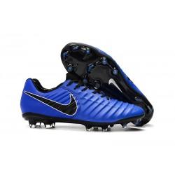 Nike Tiempo Legend 7 Elite FG Scarpa Uomo - Blu Nero
