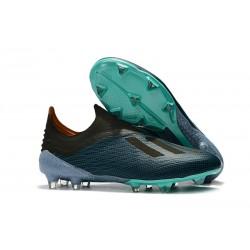 adidas X 18+ FG Scarpa Calcio - Blu Nero
