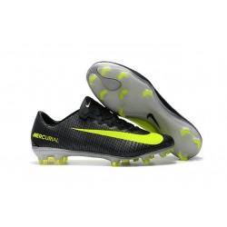 Nike Mercurial Vapor 11 FG ACC Scarpe da Calcetto - Nero Verde