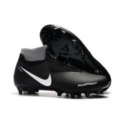 Nike Phantom VSN DF FG Scarpe da Calcio Uomo - Nero Rosso Bianca