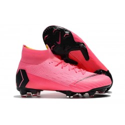 Scarpa Nike Mercurial Superfly 6 DF Elite FG - Rosa Nero