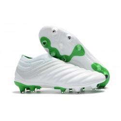 Adidas Nuovo Scarpe da Calcio Copa 19+ FG - Bianco Verde