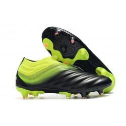 Adidas Nuovo Scarpe da Calcio Copa 19+ FG - Nero Verde