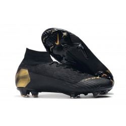 Scarpa Nike Mercurial Superfly 6 DF Elite FG - Nero Oro