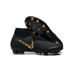 Nike Phantom VSN DF FG Scarpe da Calcio Uomo - Noir Or
