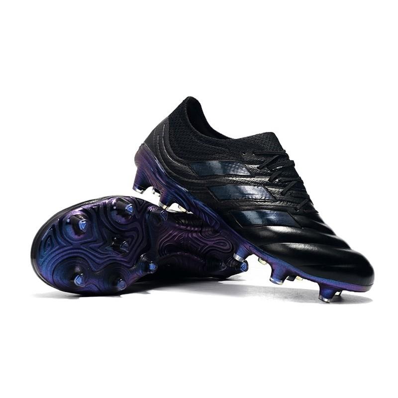 adidas Copa 19.1 FG Scarpe da Calcio Nero Blu