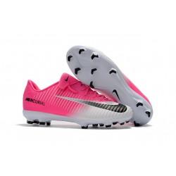 Nike Scarpini da Calcio Mercurial Vapor 11 FG ACC Rosa Bianco