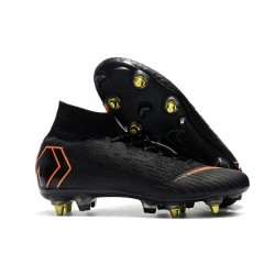 Nike Mercurial Superfly VI Elite Anti-Clog SG-Pro Nero Arancio