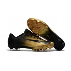Nike Scarpini da Calcio Mercurial Vapor 11 FG ACC Nero Oro