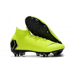 Nike Mercurial Superfly VI Elite Anti-Clog SG-Pro Volt Nero