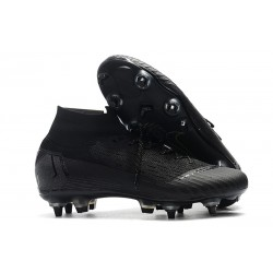 Scarpe Nike Mercurial Superfly 6 Elite Anti-Clog SG - Nero