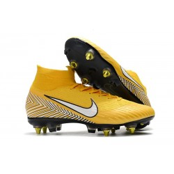 Scarpe Nike Mercurial Superfly 6 Elite Anti-Clog SG - Giallo Bianco