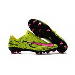 Nike Scarpini da Calcio Mercurial Vapor 11 FG ACC Giallo Rosa
