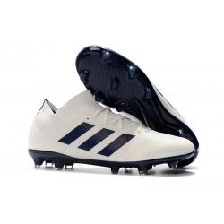 Scarpa adidas Nemeziz 18.1 FG - Bianco Nero