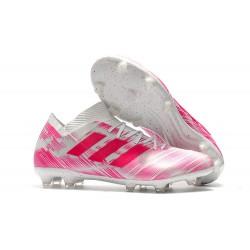 Scarpa adidas Nemeziz 18.1 FG - Rose Bianco