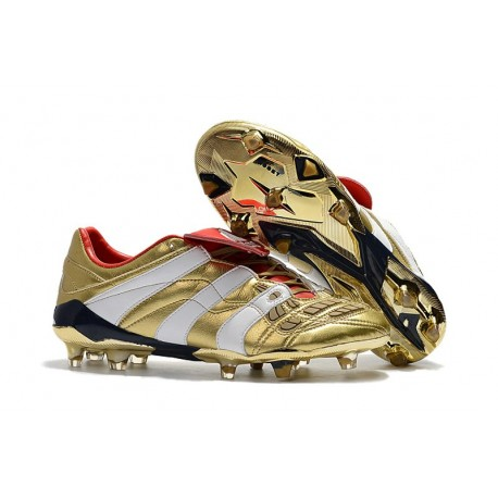 scarpe adidas calcio oro