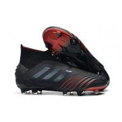 Scarpe da Calcio adidas Archetic Predator 19+ FG - Nero Rosso