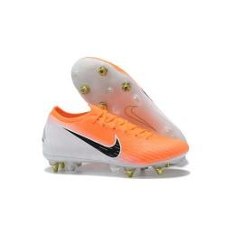Scarpa Nike Mercurial Vapor XII SG-Pro Anti Clog Arancione Bianco