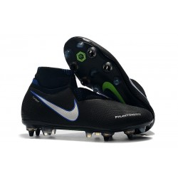 Nike Phantom VSN Elite DF SG-Pro AC Nero Blu Argento