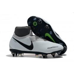 Nike Phantom VSN Elite DF SG-Pro AC Grigio Rosso