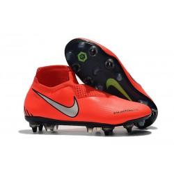 Nike Phantom VSN Elite DF SG-Pro AC Rosso Argento