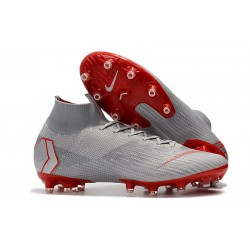 Scarpa Nike Mercurial Superfly 6 Elite AG-PRO Grigio Rosso
