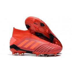 Scarpe da Calcio adidas Predator 19+ FG - Rosso