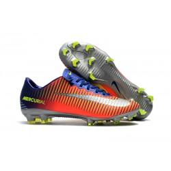 Scarpe da Calcio Nike Mercurial Vapor XI FG Uomo - Arancio Metallico