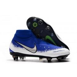 Nike Phantom VSN Elite DF SG-Pro AC Blu Bianco Plata