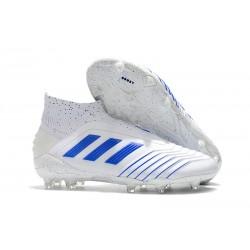 Scarpe da Calcio adidas Virtuso Predator 19+ FG - Bianco Blu