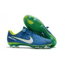 Scarpe da Calcio Nike Mercurial Vapor XI FG Neymar - Blu Bianco