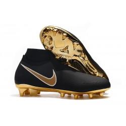 Nuove Scarpa Nike Phantom Vision DF FG Nero Oro