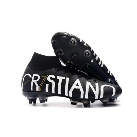 Cristiano Ronaldo CR7 Scarpe Nike Mercurial Superfly 6 Elite Anti-Clog SG