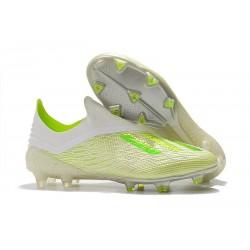 adidas X 18+ FG Scarpa Calcio - Bianco Verde