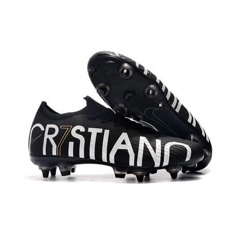 Cristiano Ronaldo CR7 Scarpa Nike Mercurial Vapor XII SG-Pro Anti Clog