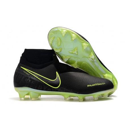 Nuove Scarpa Nike Phantom Vision DF FG Nero Volt