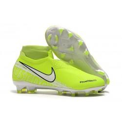 Nuove Scarpa Nike Phantom Vision DF FG Volt Bianco