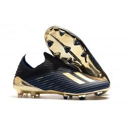 adidas X 19+ FG Scarpa da Calcio Blu Nero Oro