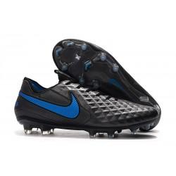 Nike Scarpe da Calcio Tiempo Legend 8 Elite FG - Nero Blu