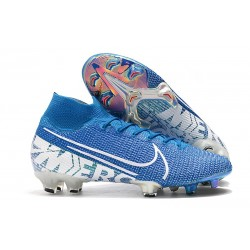 Nike Scarpe Mercurial Superfly VII Elite FG - New Lights Blu
