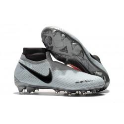 Nike Phantom Vision Elite Dynamic Fit FG Scarpa - Grigio Rosso