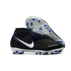 Nike Phantom Vision Elite Dynamic Fit FG Scarpa - Negro Blu