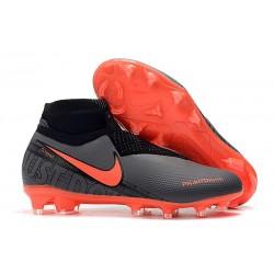 Nuove Scarpa Nike Phantom Vision DF FG Nero Rosso