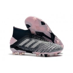 Scarpe da Calcio adidas Predator 19+ FG - Grigio Nero Rosa