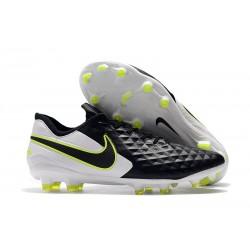 Nike Scarpe da Calcio Tiempo Legend 8 Elite FG - Nero Bianco Volt