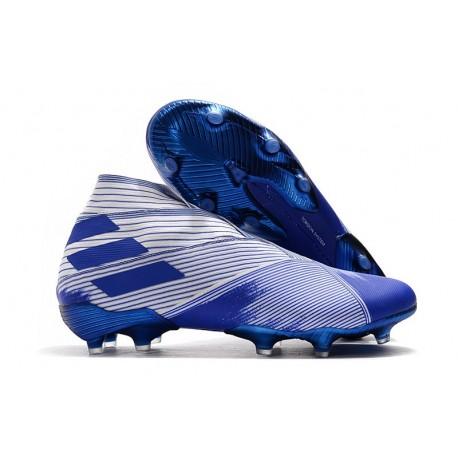 adidas Nemeziz 19+ FG Scarpa da Calcio - Bianco Blu